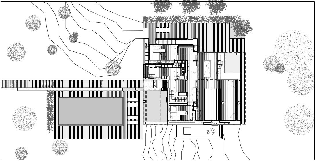 Cassia antica modern house design by jm architecture for Modern site plan