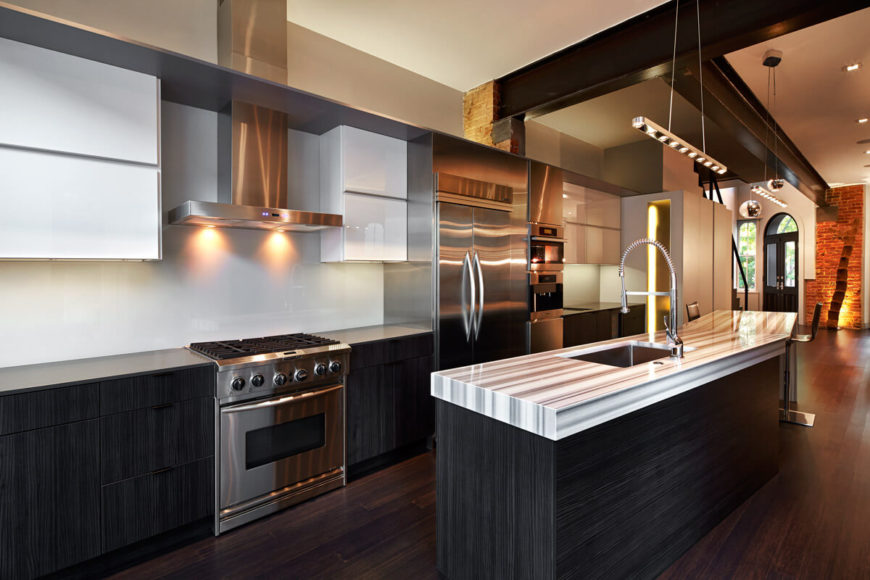 Corcoran house by kube architecture a stunning modern home - Kitchen design baltimore ...