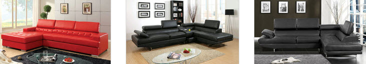 Tight Back Sectional Sofa
