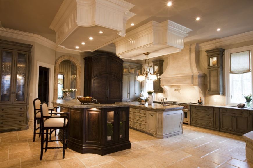 Kitchen Tiles Beige 40 uber luxurious custom contemporary kitchen designs | home