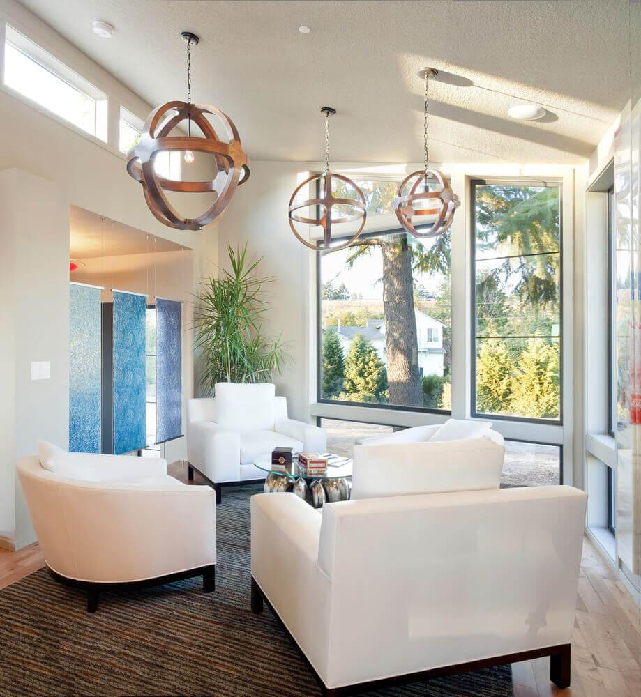 Spacious Living Room: 43 Light & Spacious Living Room Interior Design Ideas