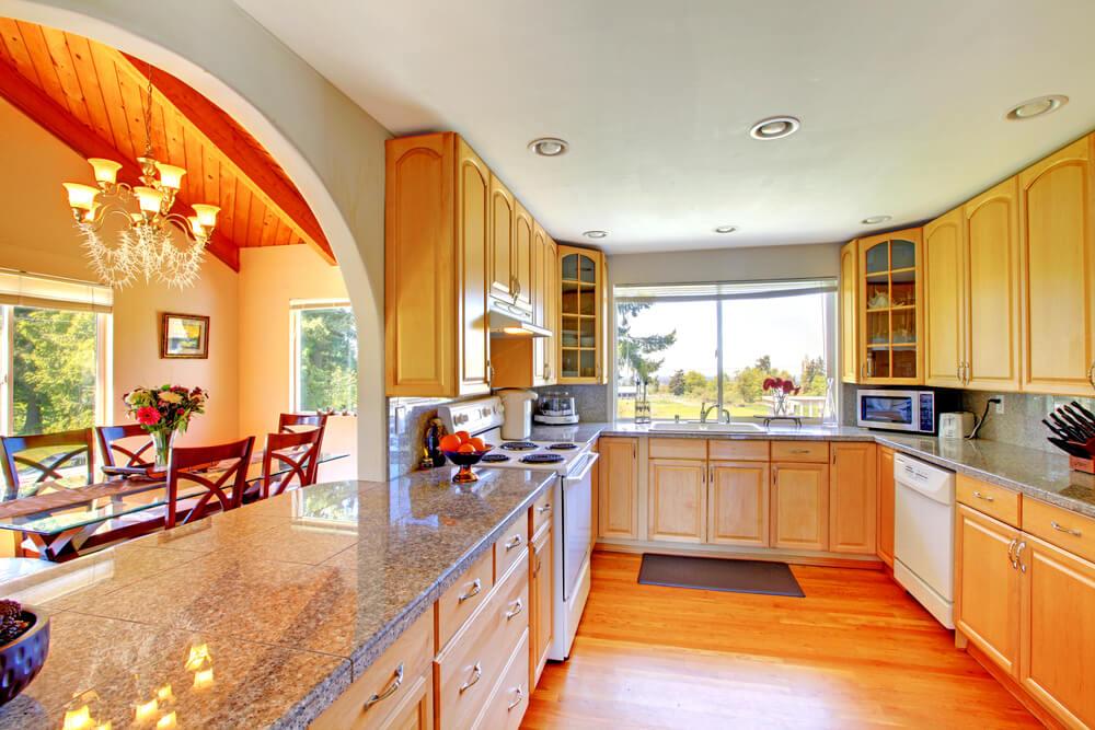 """Light Orange Kitchen 36 custom """"bright & airy"""" contemporary kitchen designs"""