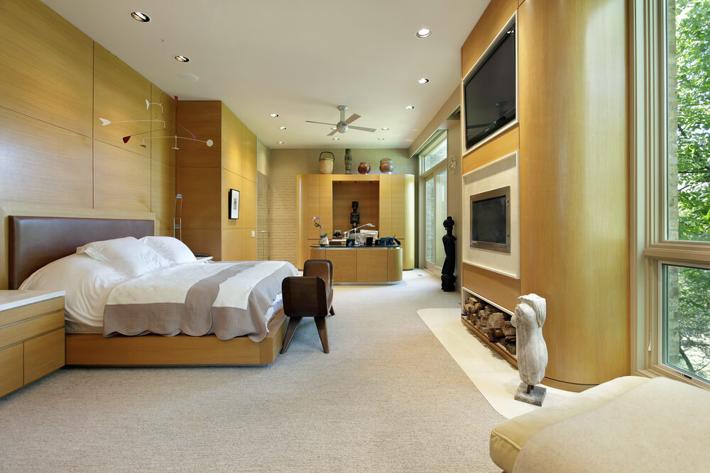 43 spacious master bedroom designs with luxury bedroom for The perfect master bedroom
