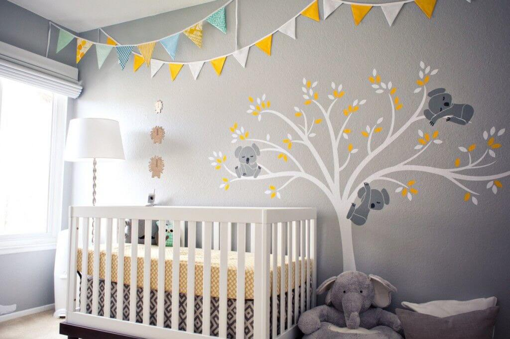 Baby Room Ideas Unisex Plain Baby Room Ideas Uninursery Design To Decorating