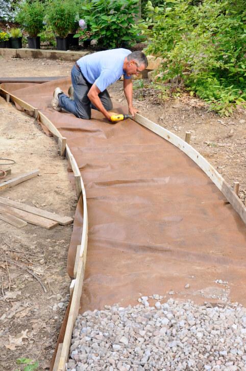 65 walkway ideas designs brick flagstone wood. Black Bedroom Furniture Sets. Home Design Ideas