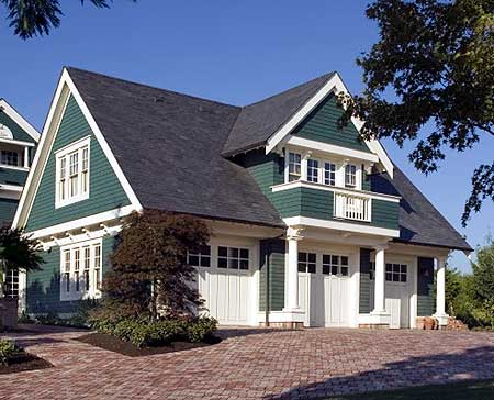 60 residential garage door designs pictures for Carriage house kits