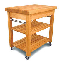 10 types of small kitchen islands on wheels - Small butcher block island ...