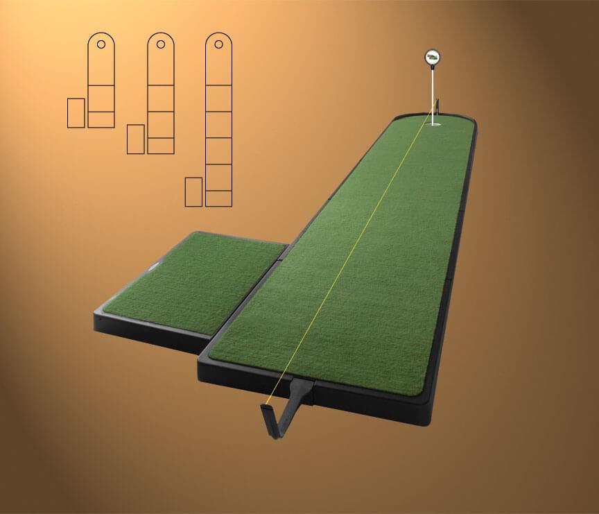 28 outdoor indoor putting greens mats designs ideas. Black Bedroom Furniture Sets. Home Design Ideas