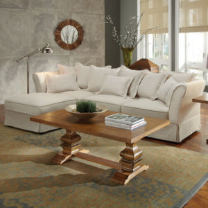1 white chaise lounge sectional with pillows by wildon home