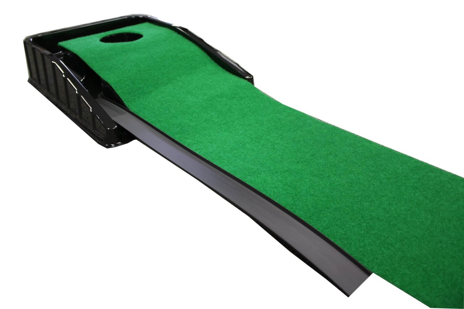 Finally, Another Standard Indoor Rolled Surface Putting Green, This One  Features A Larger