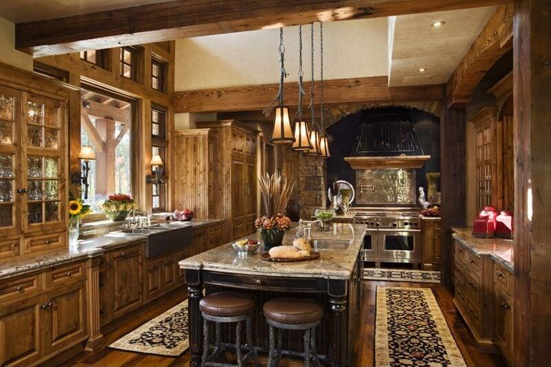 Kitchen Ideas Rustic 41 luxury u-shaped kitchen designs & layouts (photos) | home
