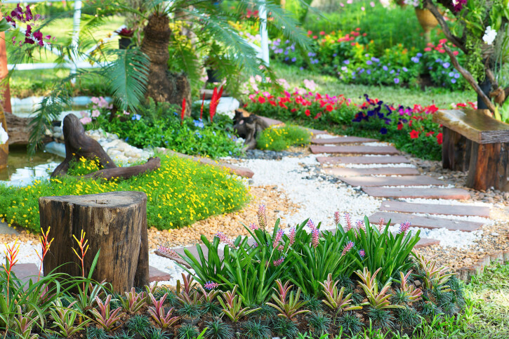 65 walkway ideas amp designs brick flagstone amp wood