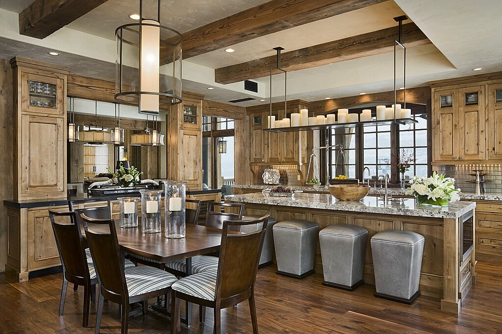 48 luxury dream kitchen designs worth every penny photos for Rustic modern kitchen ideas