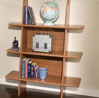 tic tac toe leaning shelf by berg furniture