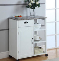 10 types of small kitchen islands on wheels - Small kitchen island with storage ...
