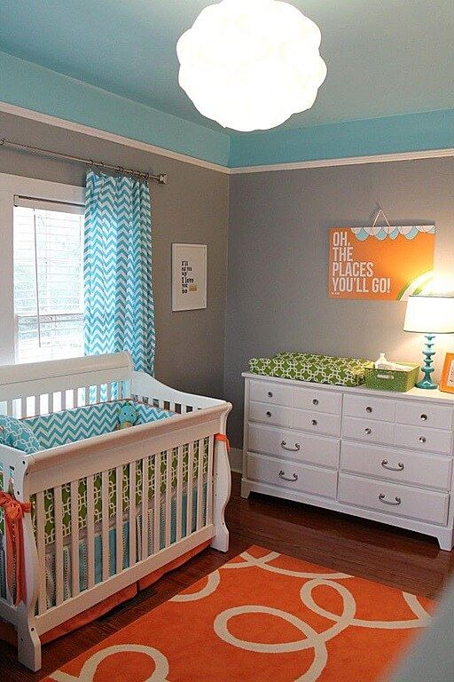 20 baby boy nursery ideas themes designs pictures - Colorful Boys Room