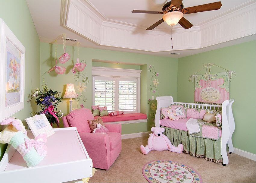 18 Baby Girl Nursery Ideas Themes Amp Designs Pictures