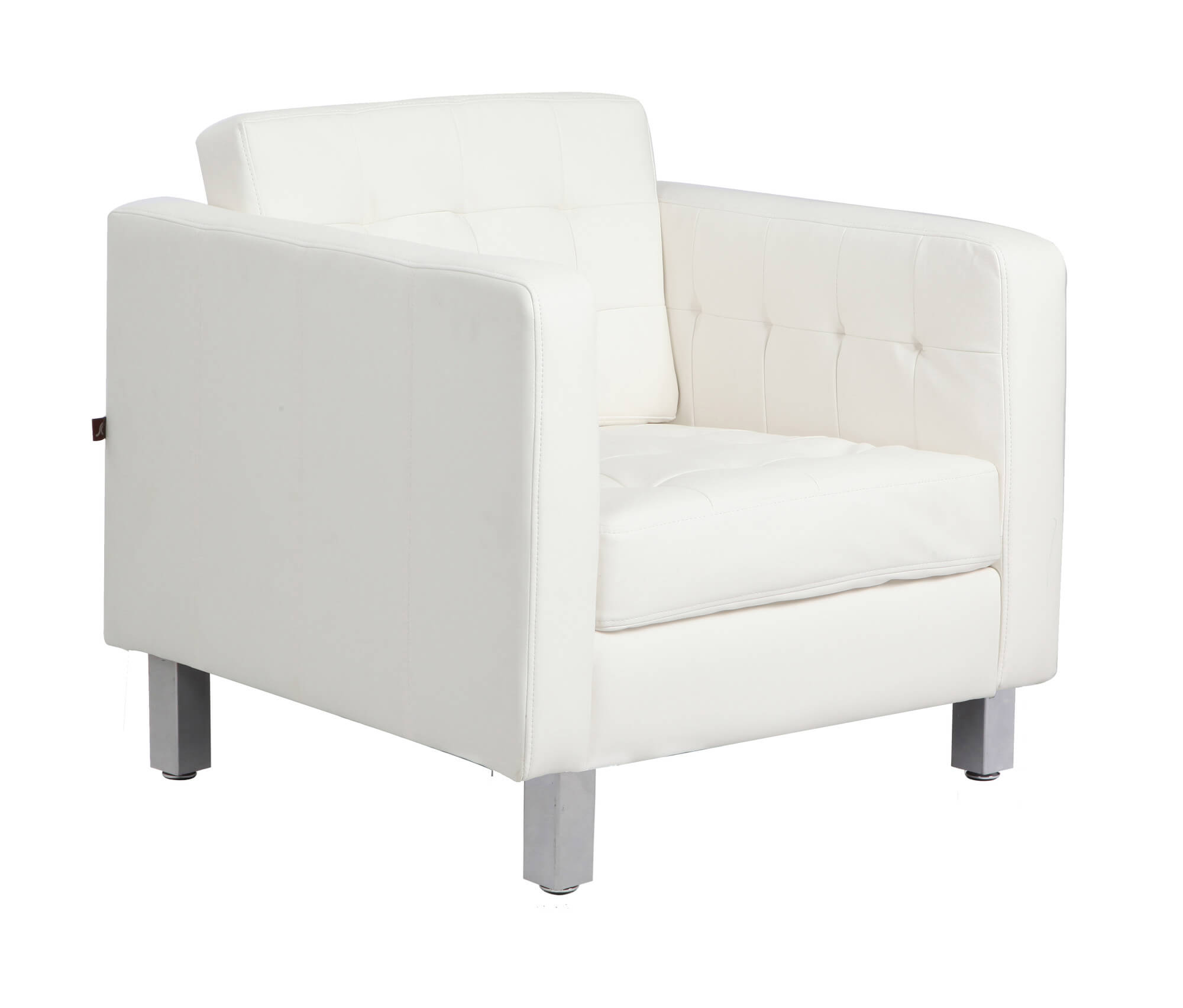 37 white modern accent chairs for the living room for Modern black and white furniture