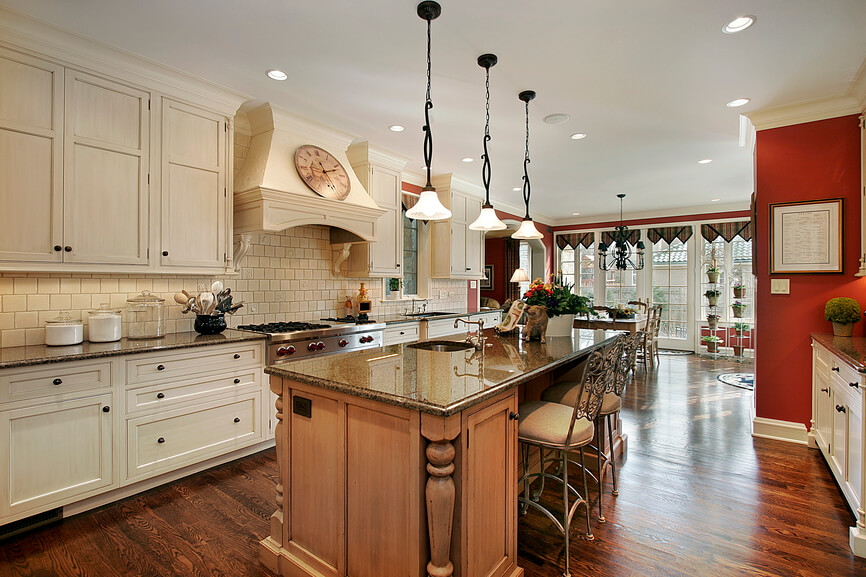 Galley Kitchen With Island Designs Pleasing 22 Luxury Galley Kitchen Design Ideas Pictures Review