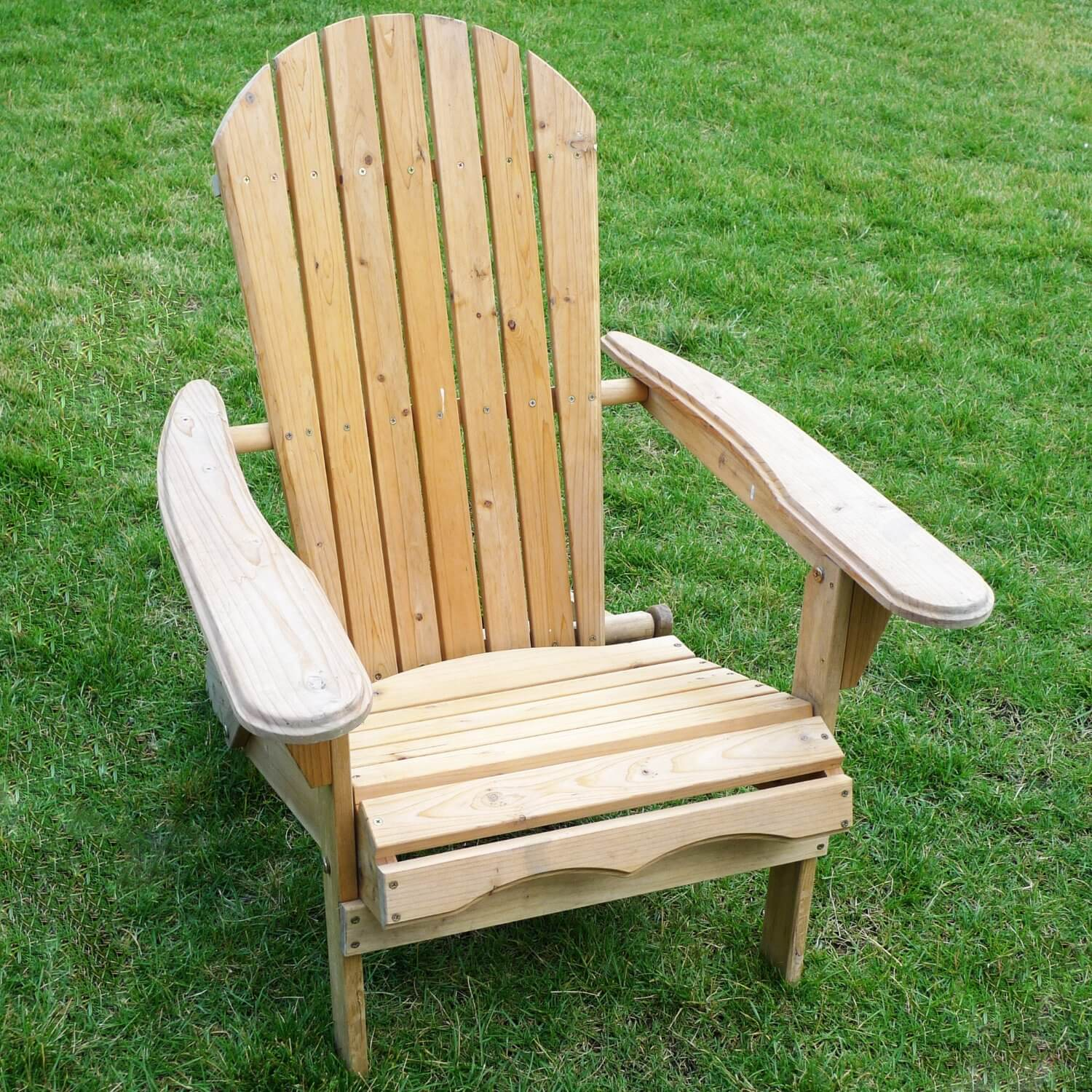 How To Build A Wooden Pallet Adirondack Chair (Step By Step Tutorial). Full resolution‎  portraiture, nominally Width 1500 Height 1500 pixels, portraiture with #9B7030.