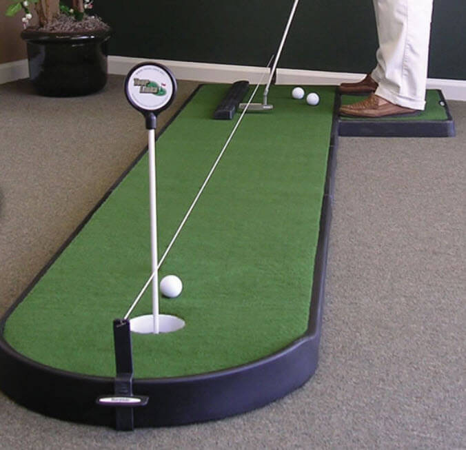 Office Pictures For Walls Golf: 28 Outdoor & Indoor Putting Greens & Mats (Designs & Ideas