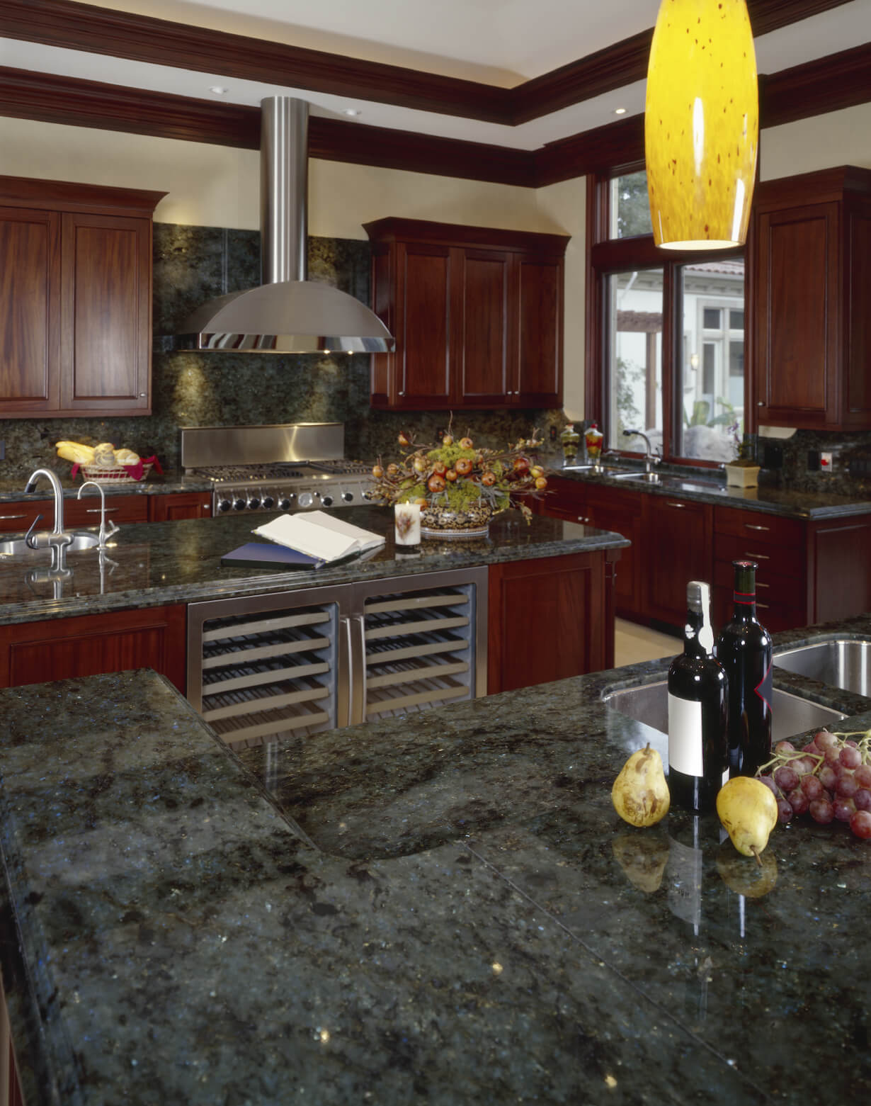 Kitchen Marble Floor 40 Magnificent Kitchen Designs With Dark Cabinets Architecture
