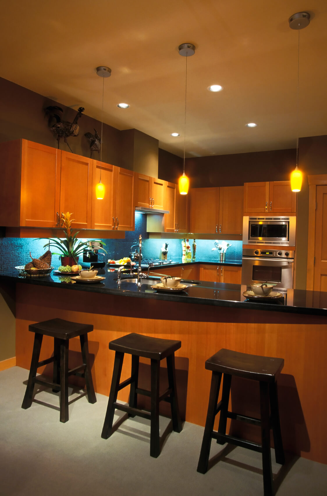 52 dark kitchens with dark wood and black kitchen cabinets Kitchen design black countertops