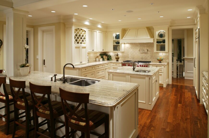 Kitchen Floor Marble 41 white kitchen interior design & decor ideas (pictures) | home