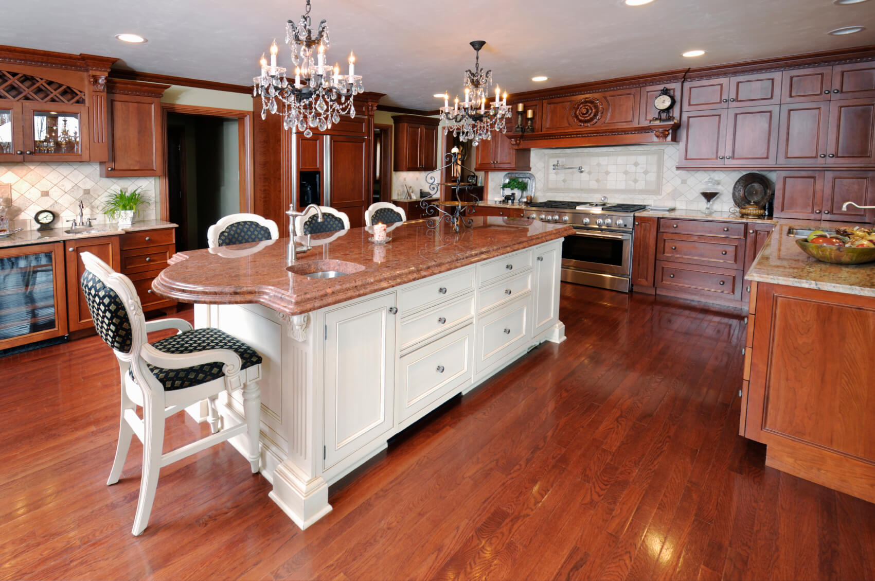 Custom Kitchen Islands With Breakfast Bar 84 Custom Luxury Kitchen Island Ideas & Designs Pictures