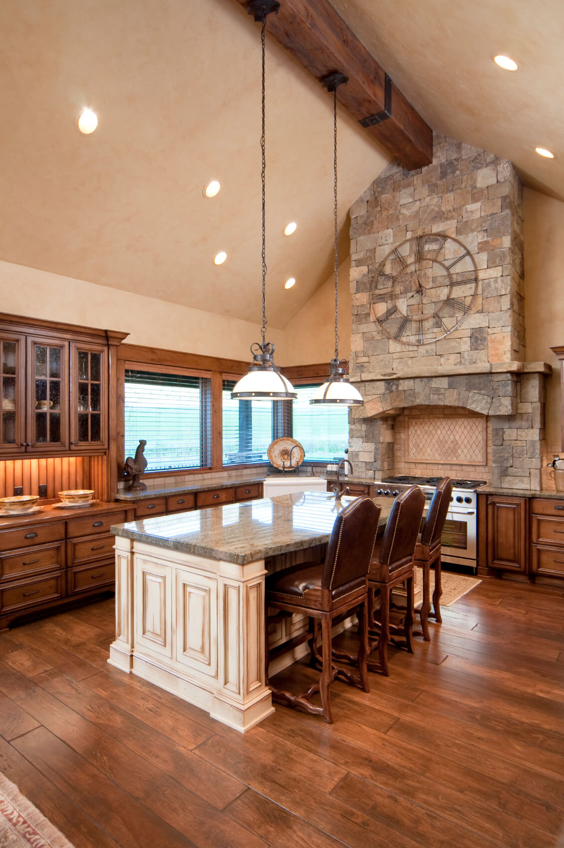 48 luxury dream kitchen designs worth every penny photos for Dream wooden house