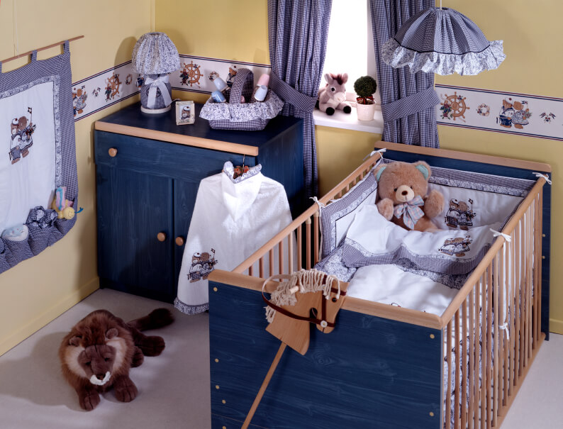 20 baby boy nursery ideas themes designs pictures - Ideas para decorar habitacion bebe ...