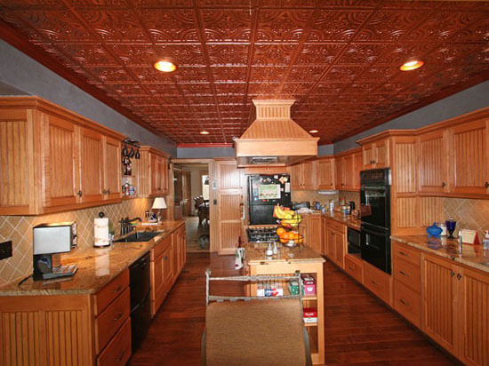 16 decorative ceiling tiles for kitchens kitchen photo for Kitchen cabinets 24x24