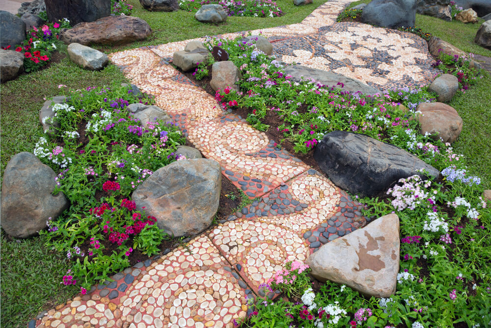 Image result for Landscaping Stones Can Fill The Gap In Your Landscape Garden