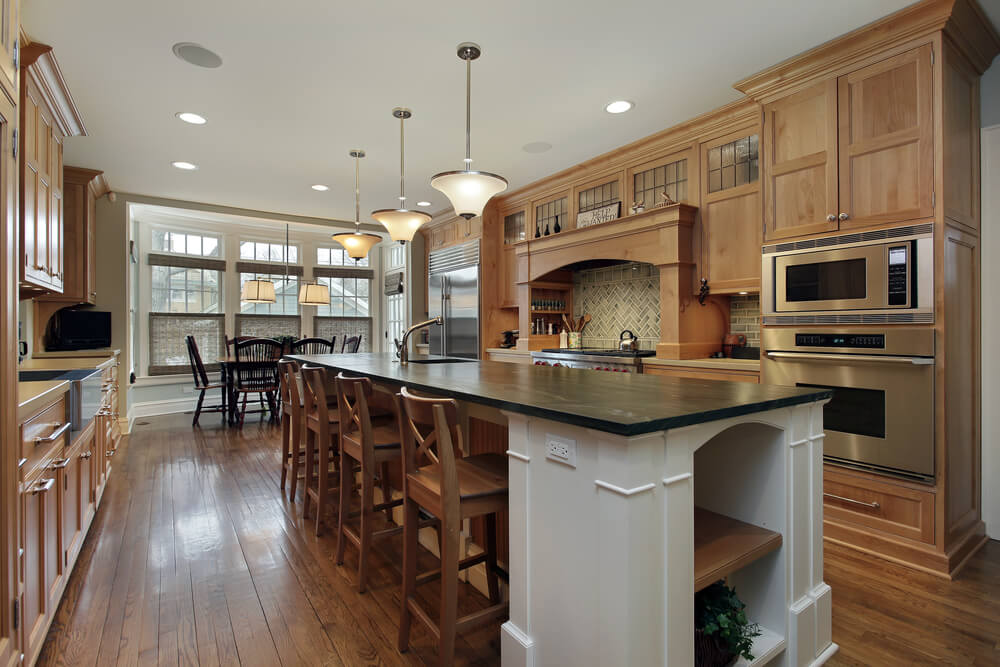 Kitchen Island Ideas For Large Kitchens 22 luxury galley kitchen design ideas (pictures)