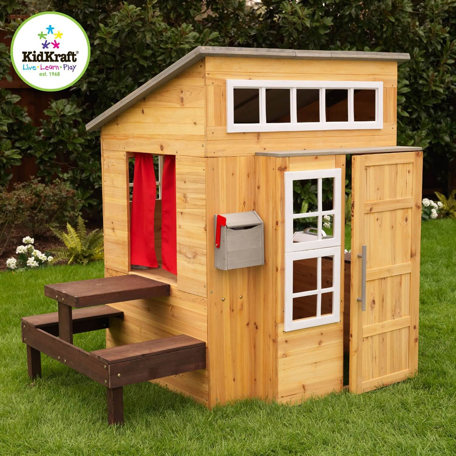 Elegant Wooden Playhouse For Kids