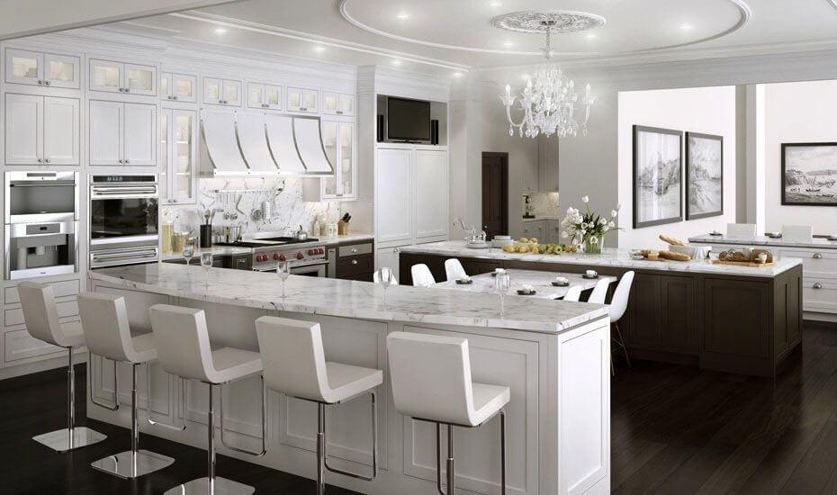 Fantastic 41 White Kitchen Interior Design Decor Ideas Pictures Largest Home Design Picture Inspirations Pitcheantrous