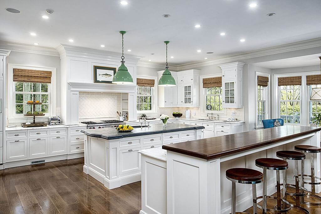 White Kitchen Hardwood Floors 41 white kitchen interior design & decor ideas (pictures)