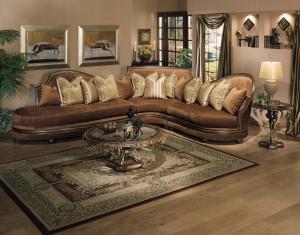 Luxury Sectional Sofa Leather Hereo Sofa