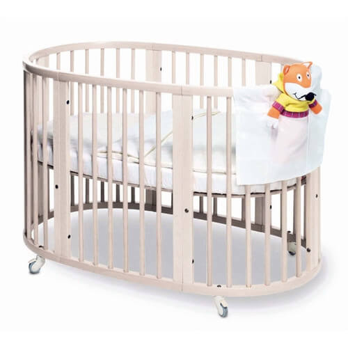 Here is the full size Sleepi crib from Stokke, designed for older babies  and small .