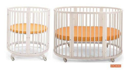 Elegant This Fully Convertible Crib, Courtesy Of Stokke, Begins As Fully Round  Structure With Included