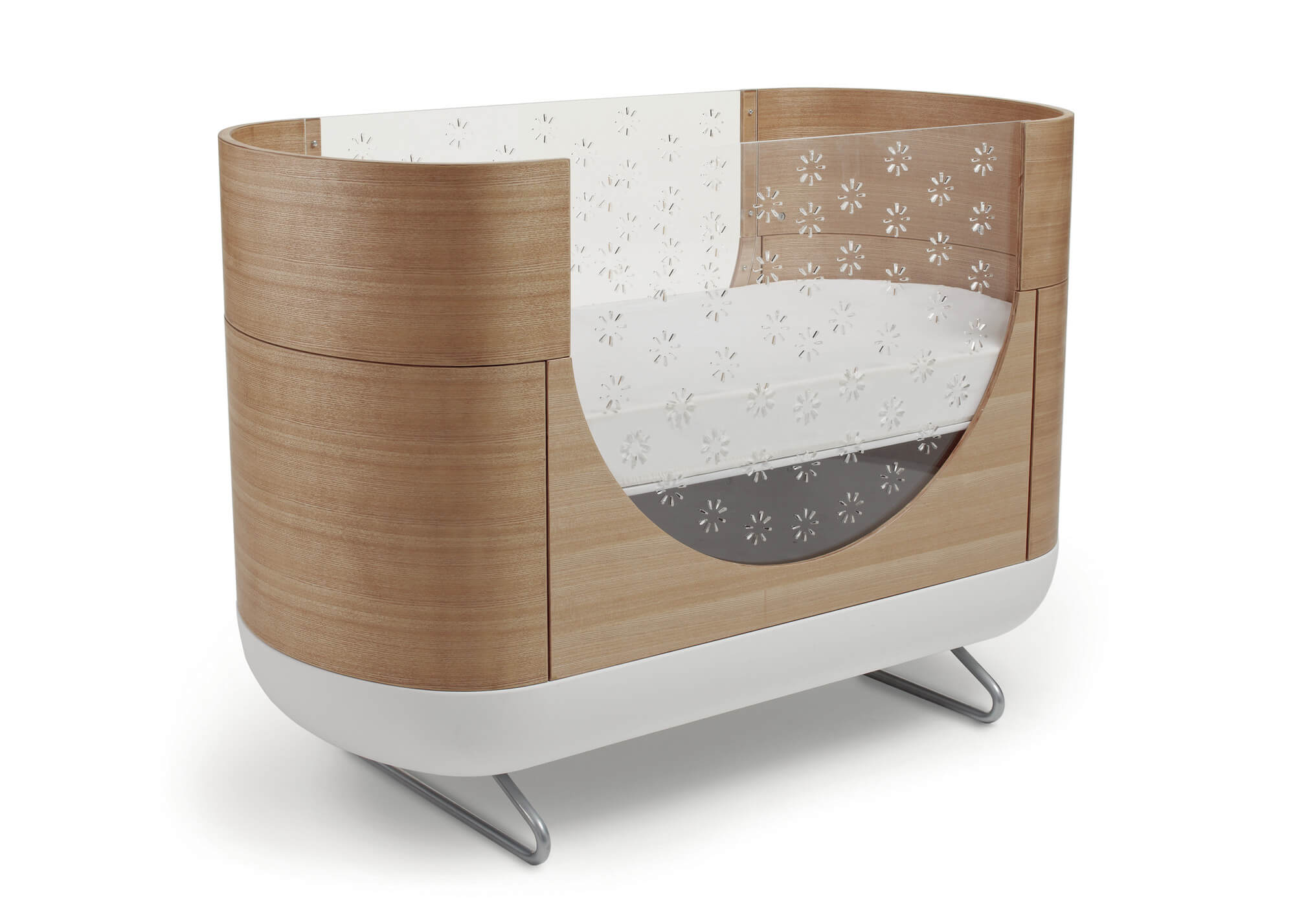Baby cribs pictures - Oval Baby Cribs