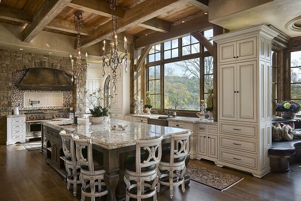 27 luxury kitchens that cost more than 100 000 incredible for Elegant residences kitchens