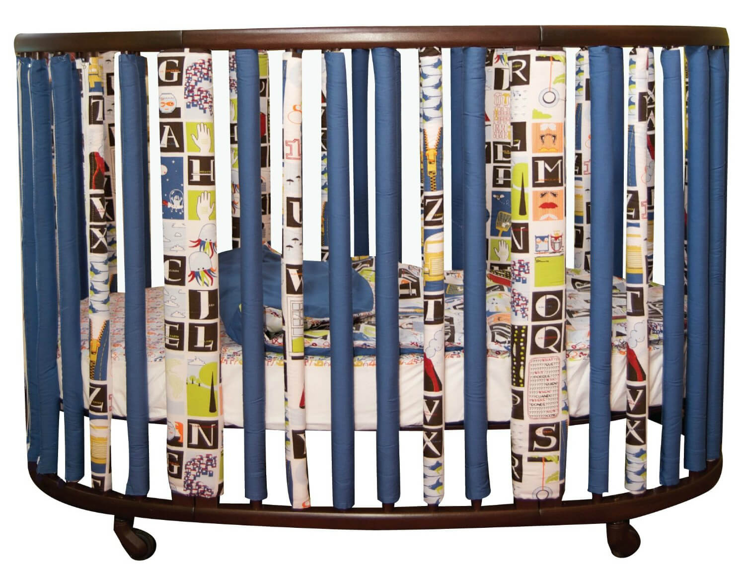 Baby crib for sale tulsa - Wonder Bumpers For Oval Cribs Courtesy Of Go Mama Go Designs Will Ensure Peace Of