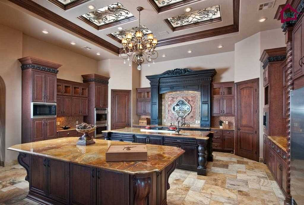 27 luxury kitchens that cost more than 100 000 incredible for Extravagant kitchen designs