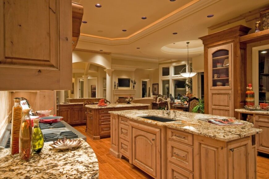 27 luxury kitchens that cost more than 100 000 incredible for Kitchen design 43055