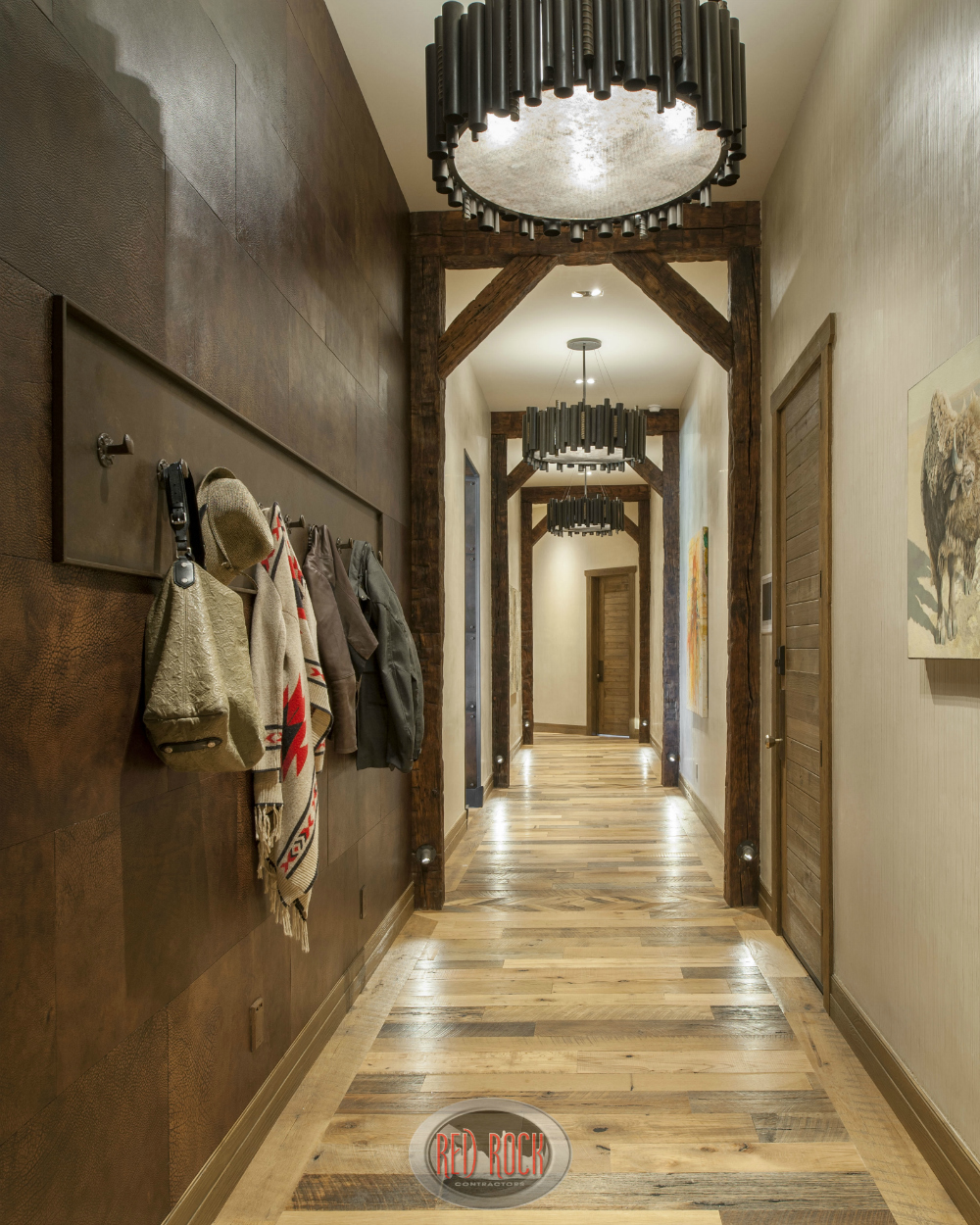 Unique Foyer Lighting : Custom quot jaw dropping rustic interior design ideas photos