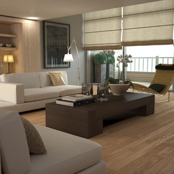 Living Room Hardwood Floor: 33 Living Room Designs With Beautiful Woodwork Throughout