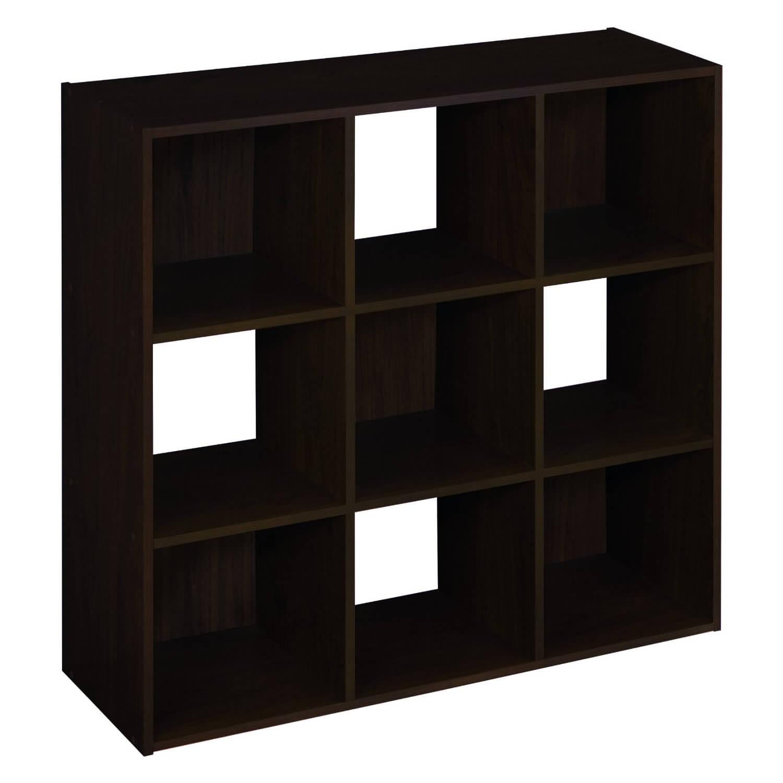 twenty 9 cube bookcases shelves and storage options