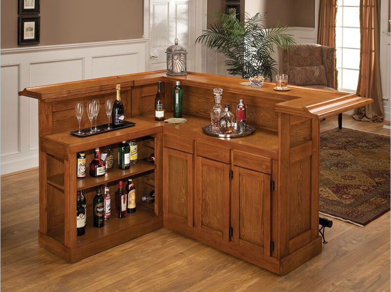 Bar Counters For Home 30 top home bar cabinets, sets & wine bars (elegant & fun)