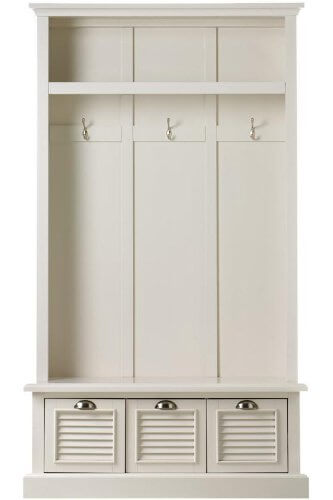 Mudroom Storage Units For Sale : Entryway locker small mudroom cubbies free prepac